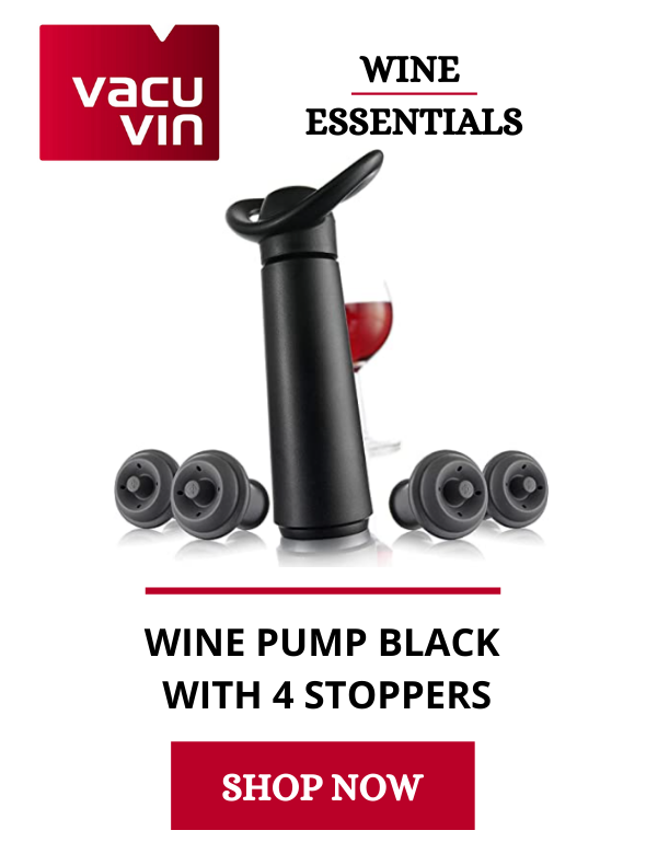 wine essentials: pump and stopper